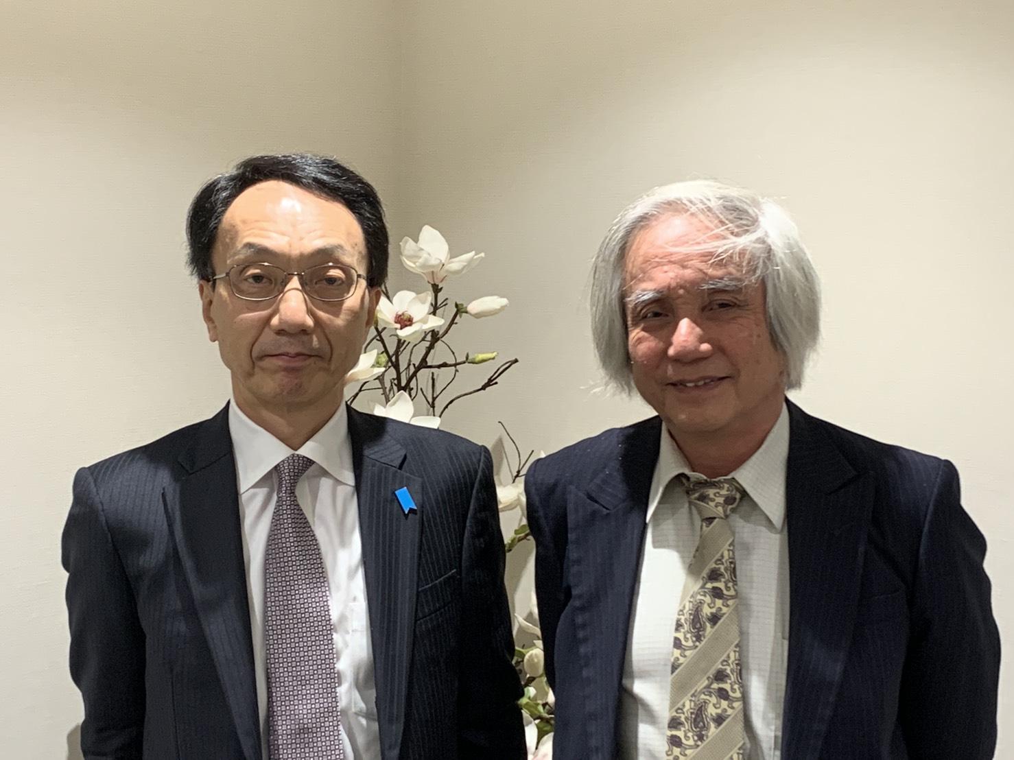 川上文博 在フィジー新日本国大使に訪問いただきました。   一般社団 ...
